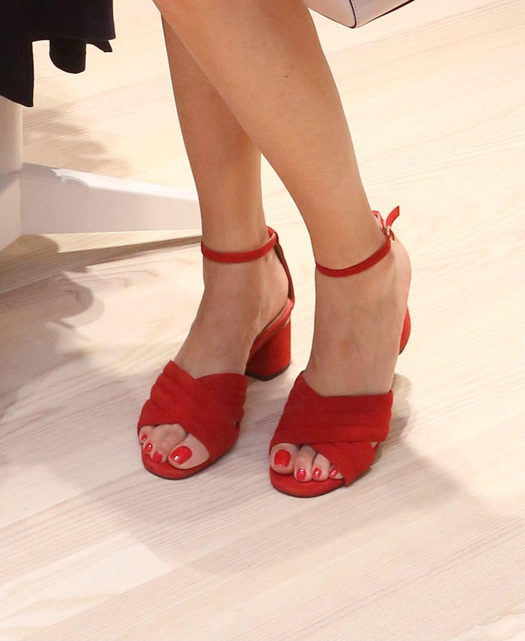 Lejla je nosila po mnogima najudobnije ljetne sandale s potpeticom