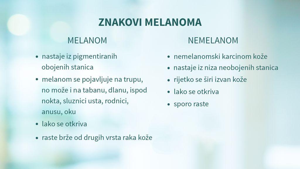 Znakovi melanoma