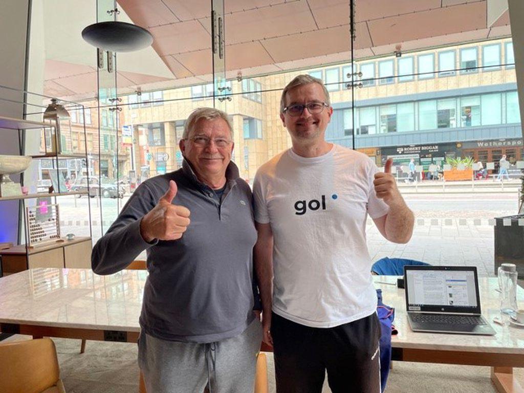 Momir Jelovac i Ivica Medo na radnom mjestu u Glasgowu