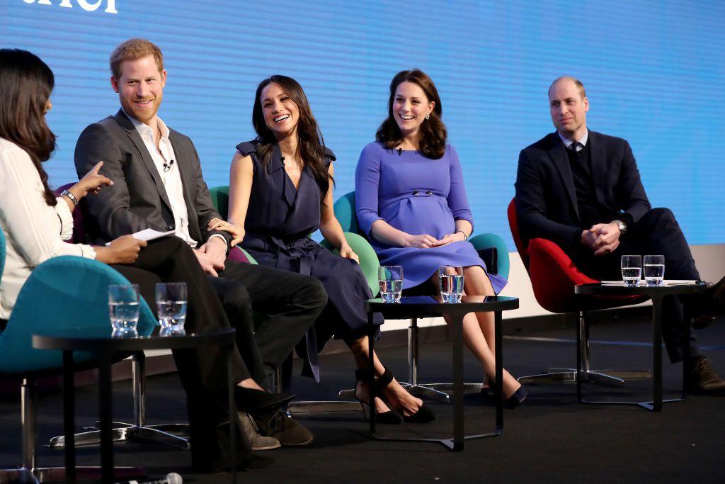 Princ William, Meghan Markle, Catherine Middleton i princ William
