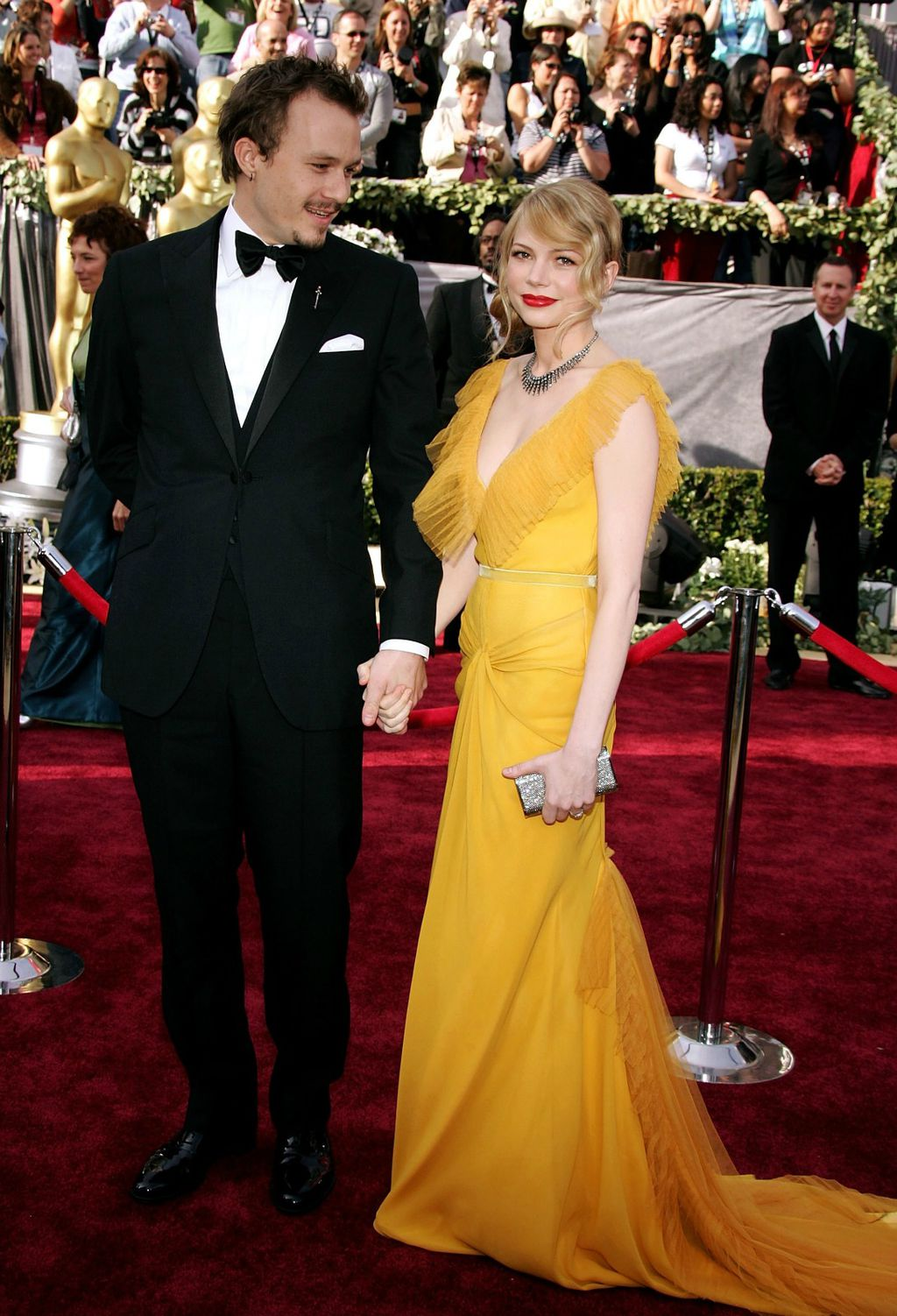 Heath Ledger i Michelle Williams na dodjeli Oscara 2006. godine