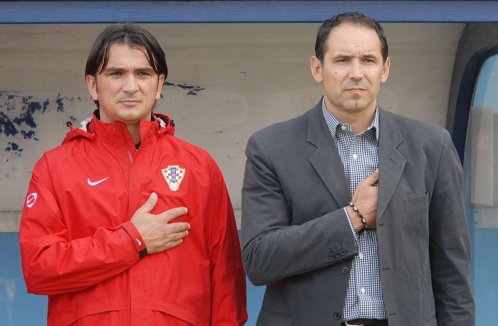 Zlatko Dalić i Dražen Ladić (Foto: Marko Jurinec/PIXSELL)