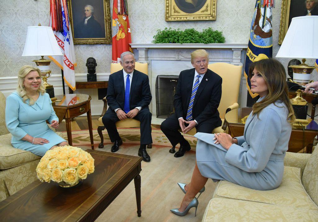 Melania i Donald Trump ugostili su izraelskog premijera i njegovu suprugu u Bijeloj kući