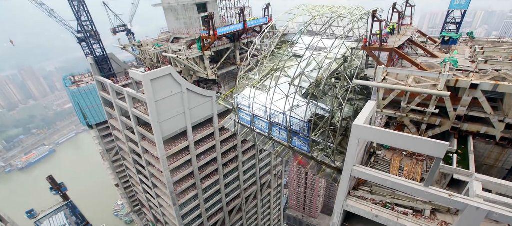 Vodoravni neboder uskoro bi trebao biti dovršen