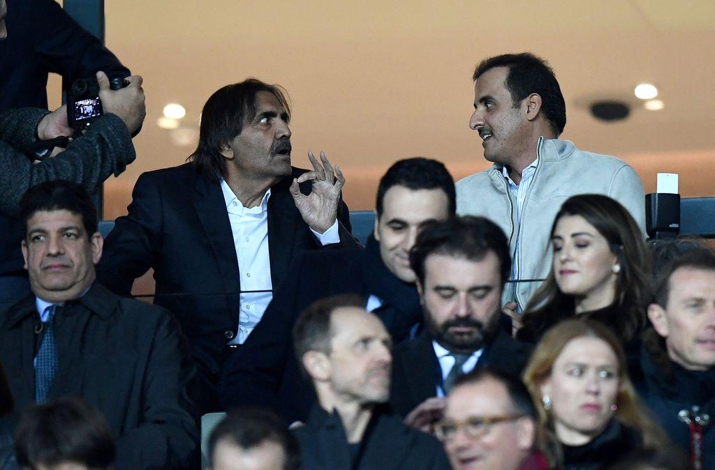Katarski emir Tamim bin Hamad al-Thani (desno) (Foto: AFP)