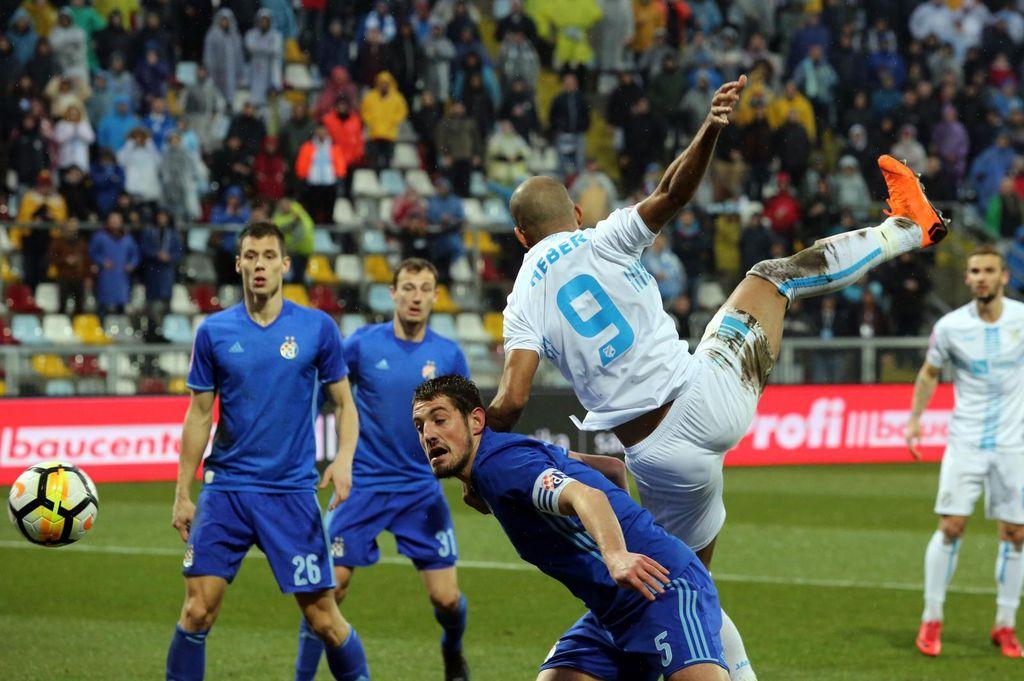 Rijeka - Dinamo (Foto: Goran Kovacic/PIXSELL)