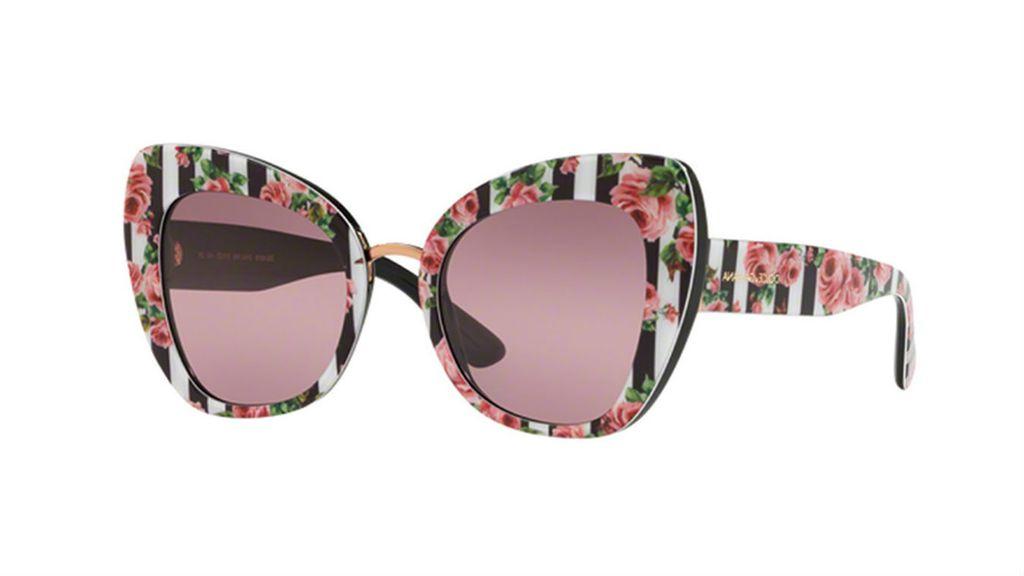 Sunčane naočale s cvjetnim uzorkom iz trgovina - 5
