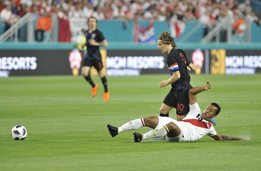 Hrvatska - Peru (Foto: AFP)