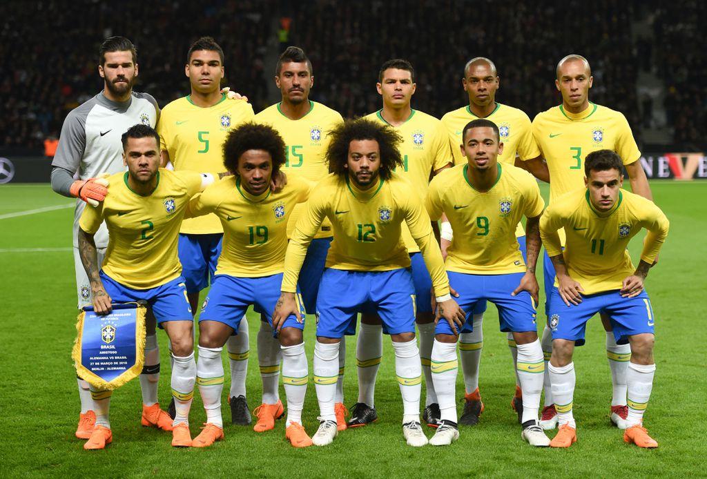 Reprezentacija Brazila (Foto: AFP)