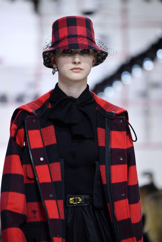 Karirani uzorak prevladavao je u Diorovoj kolekciji za jesen/zimu 2019./2020.