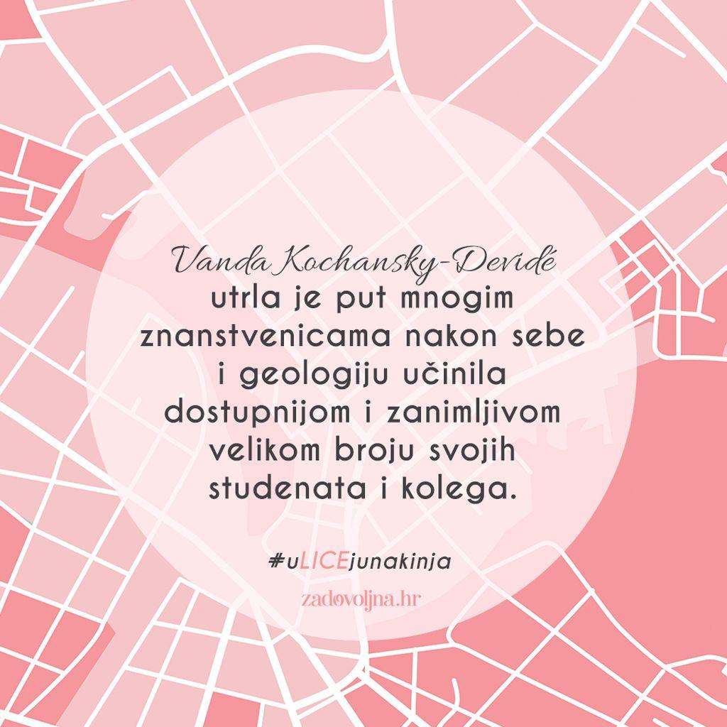 Vanda Kochansky-Devidé zaslužuje biti dio #uLICEjunakinja
