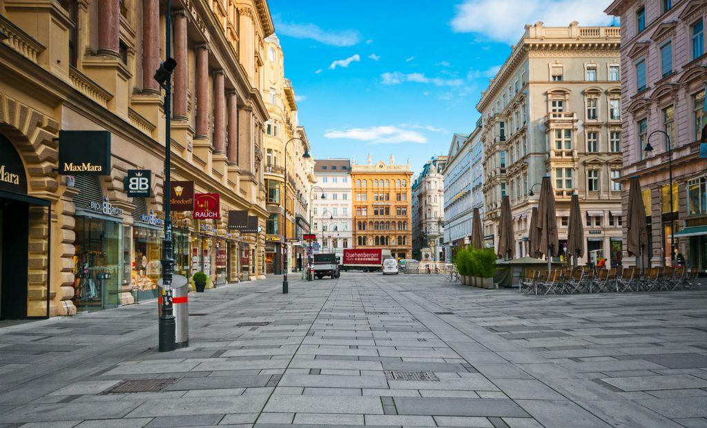 Beč, Austrija (Ilustracija)