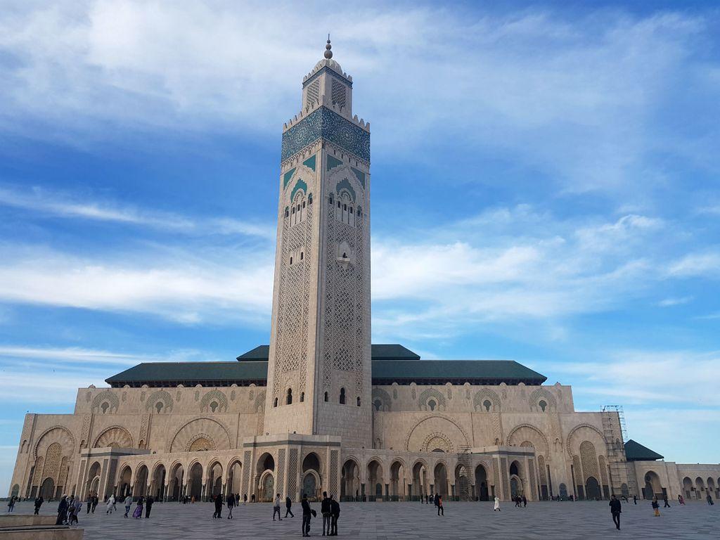 Casablanca - džamija Hassana II.