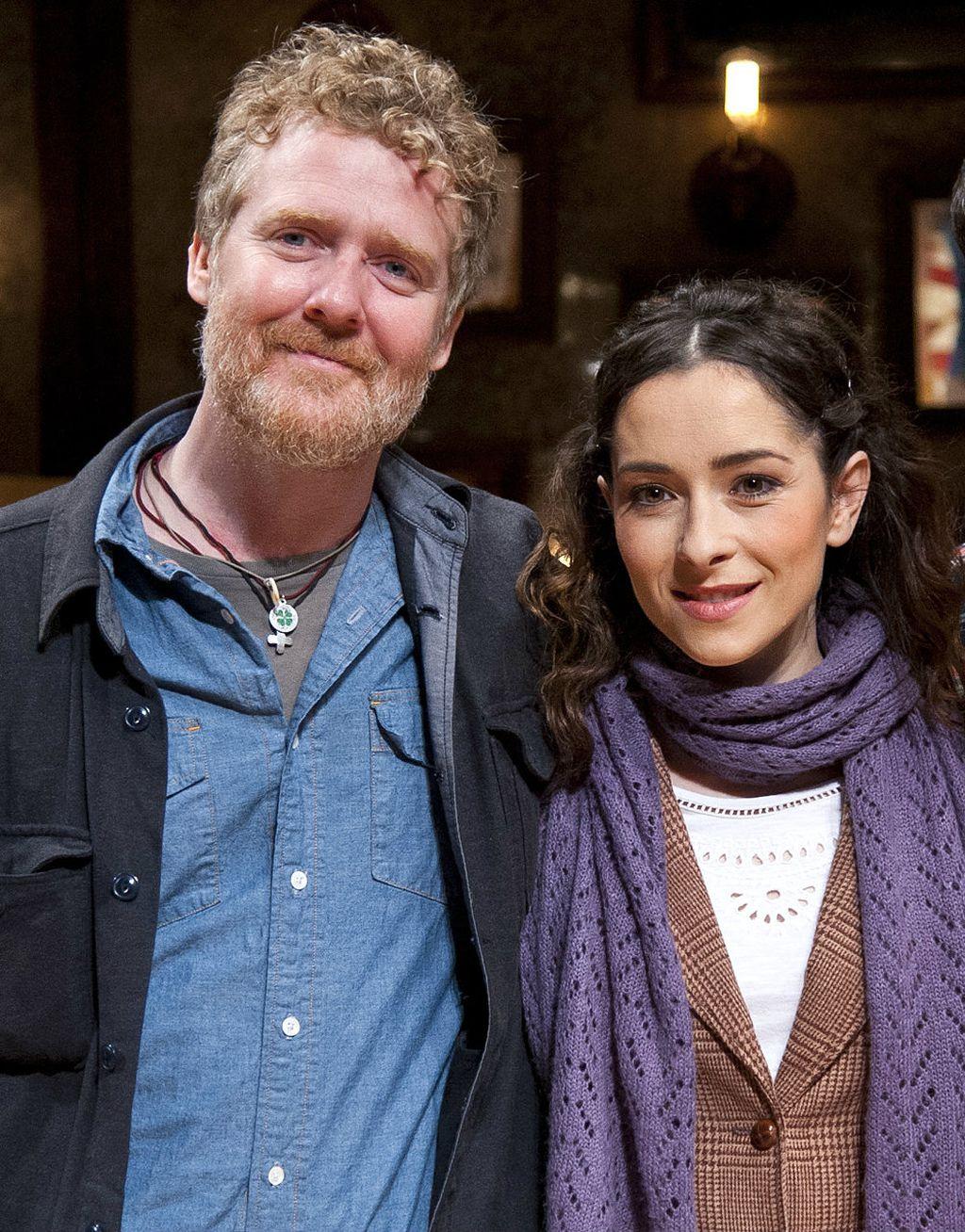 Glen sa Zrinkom Cvitešić koja je glumila Djevojku u kazališnoj verziji mjuzikla na West Endu