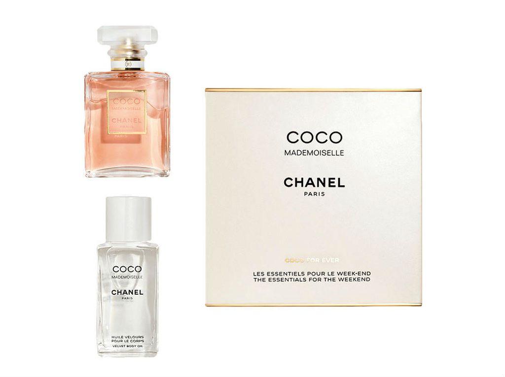 Pakiranje sadrži Eau de Parfum i ulje Velvet Body Oil