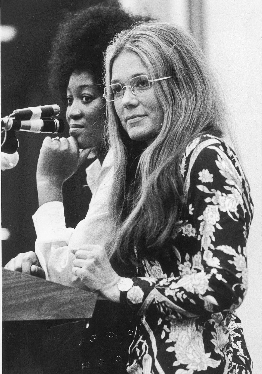 Gloria Steinem u 70-im godinama prošlog stoljeća