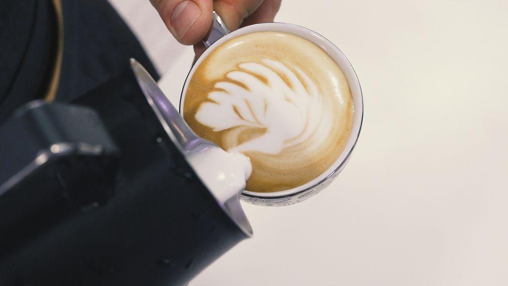 Latte art u nastajanju