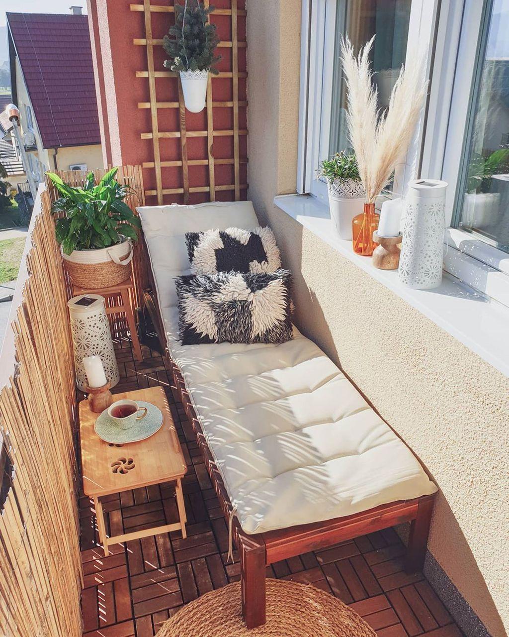 Balkon zbog kojeg je lakše podnijeti boravak u kući