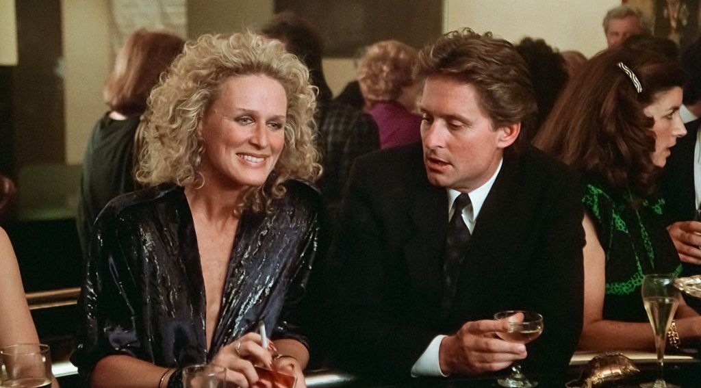 Michael Douglas i Glenn Close