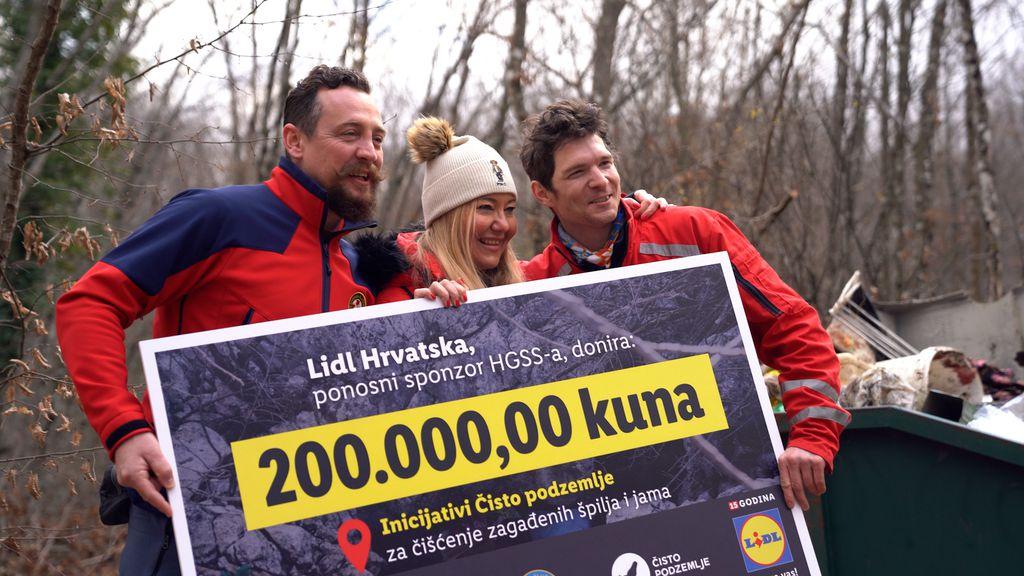 Josip Granic (HGSS), Marina Dijakovic (Lidl Hrvatska), Ruđer Novak (Cisto podzemlje i HGSS)