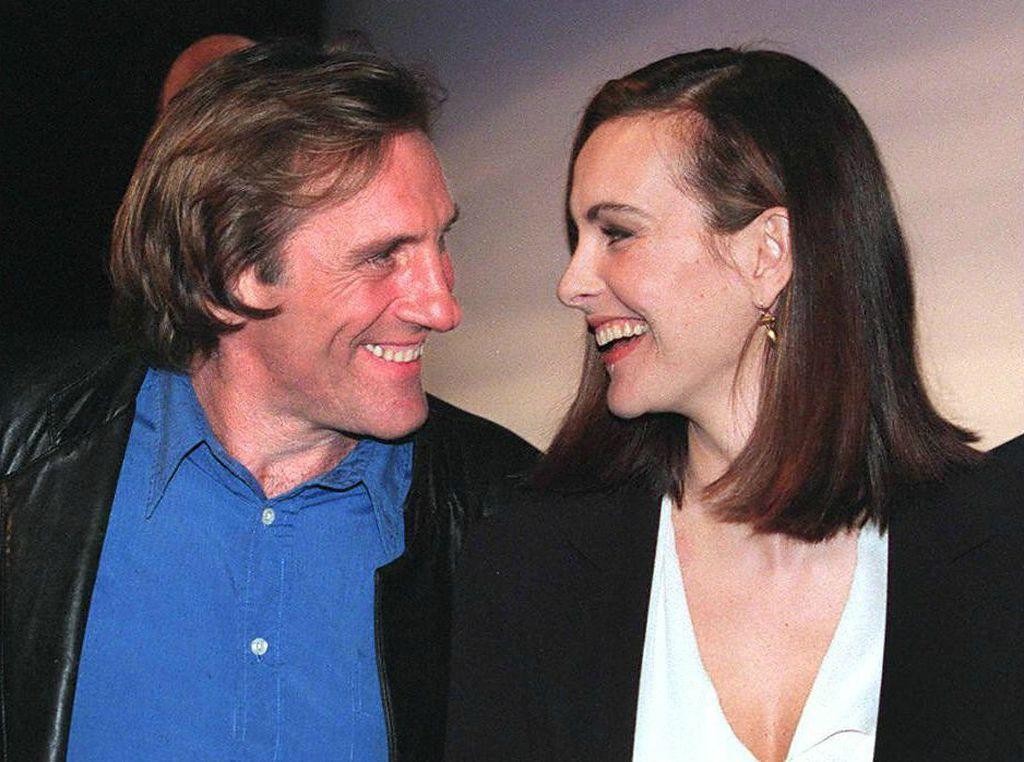 Gerard Depardieu i Carole Bouquet