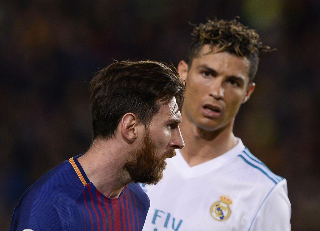 Leo Messi i Cristiano Ronaldo (Foto: AFP)