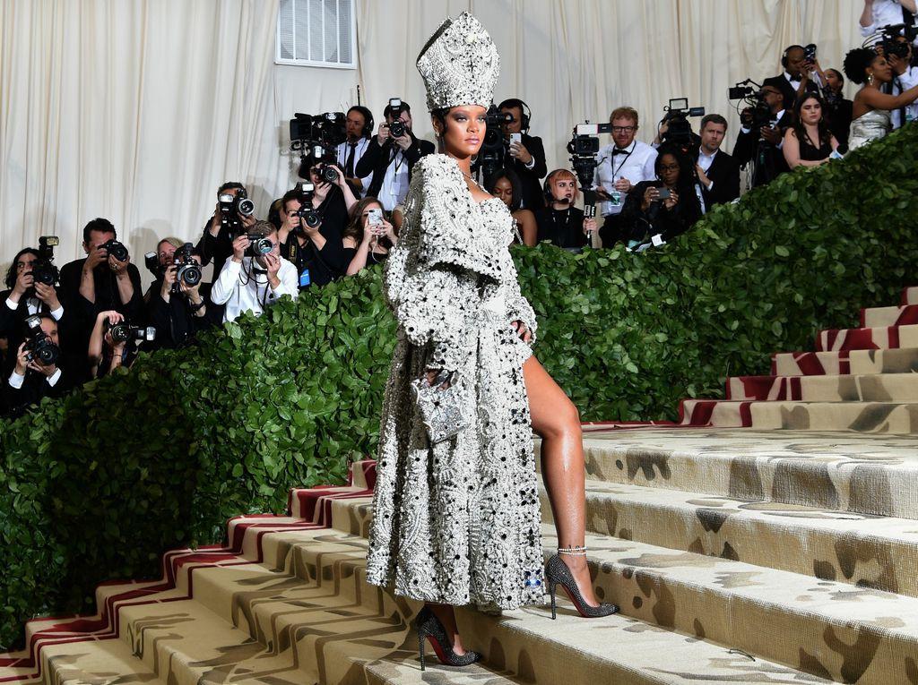 Rihanna na Met Gali - 2