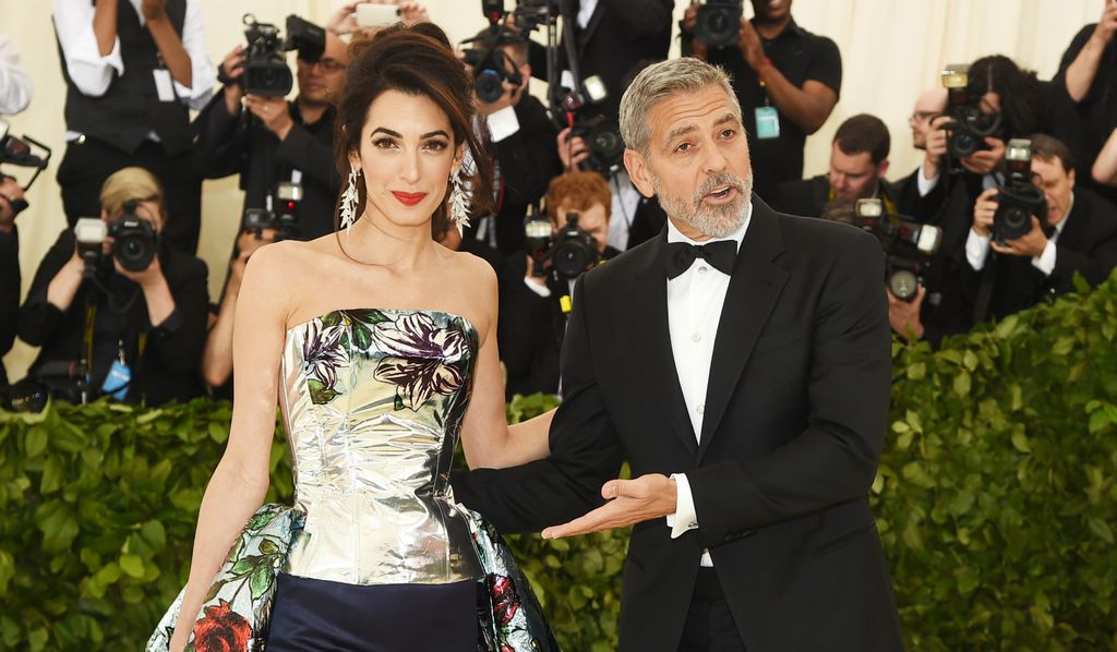 Amal i George na Met Gali