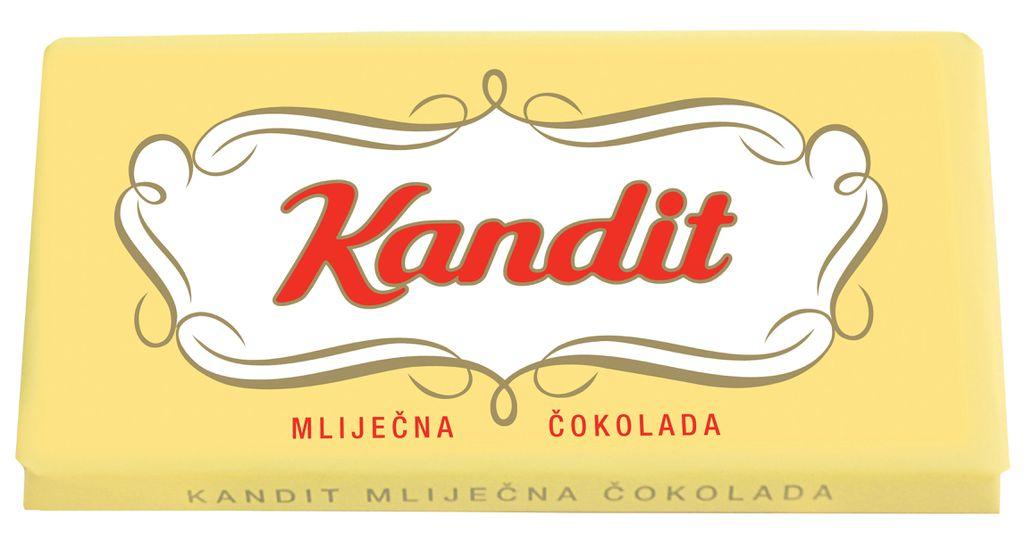 Prva Kandit čokolada proizvedena je 1954. godine