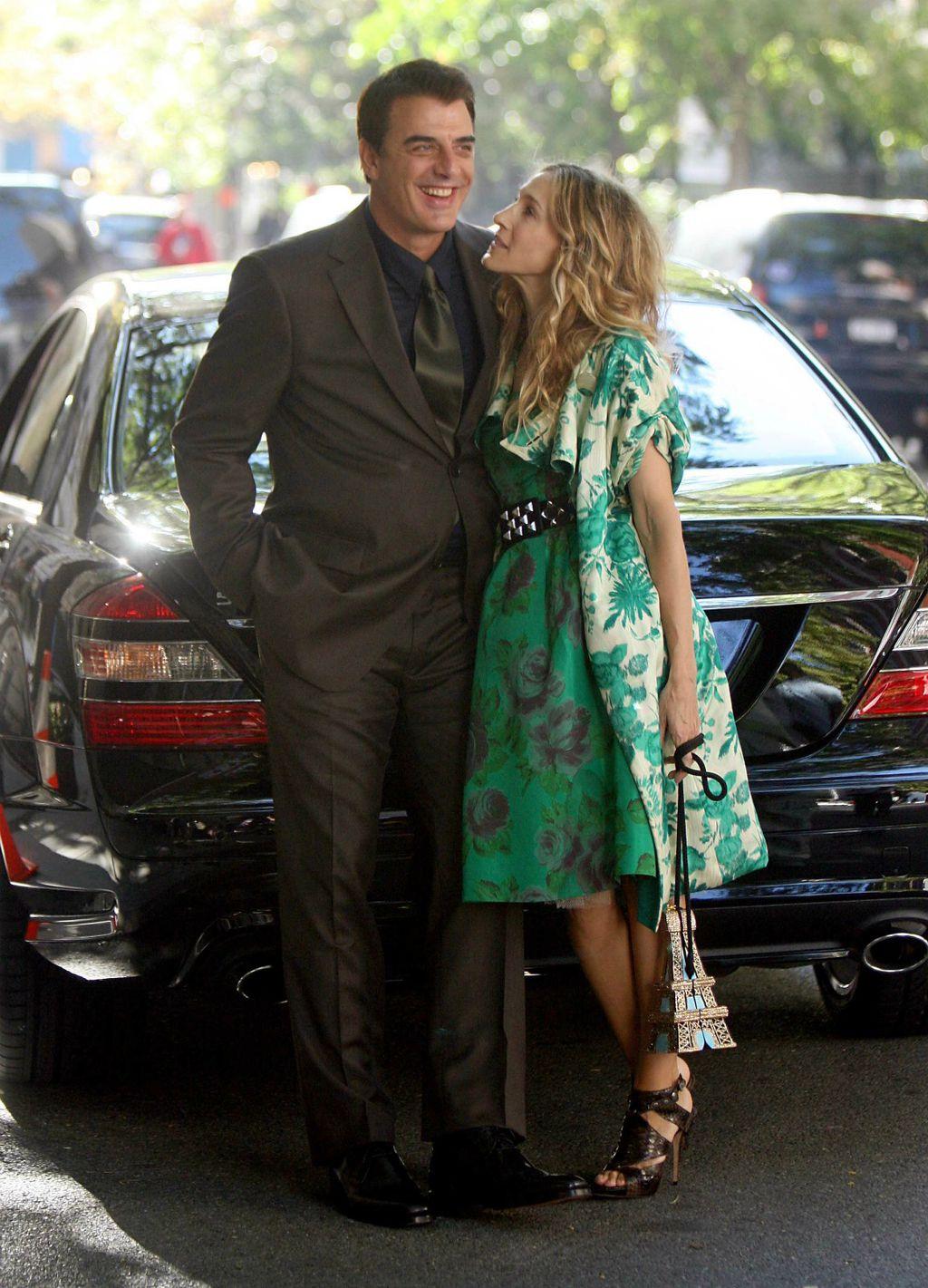 Chris Noth i Sarah Jessica Parker