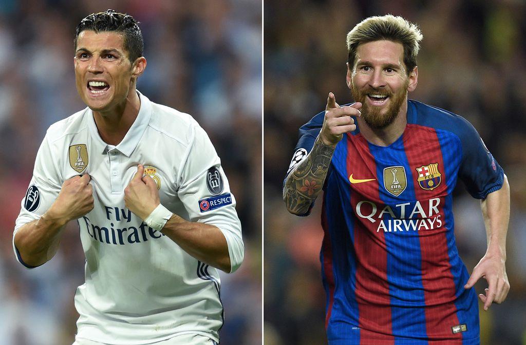 Cristiano Ronaldo i Leo Messi (Foto: AFP)