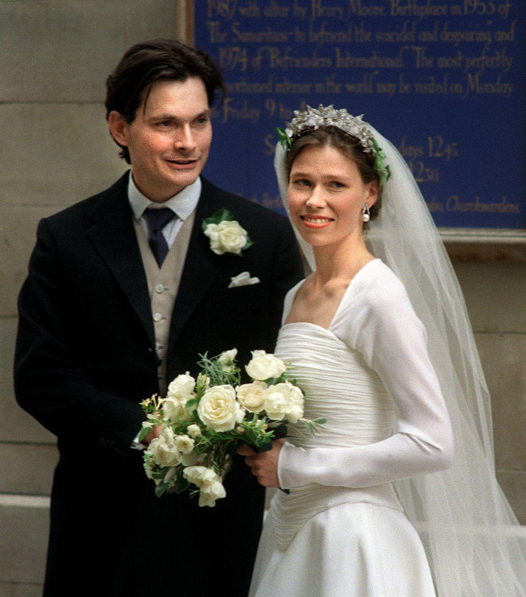Sarah Armstrong-Jones u vjenčanici Jaspera Conrana