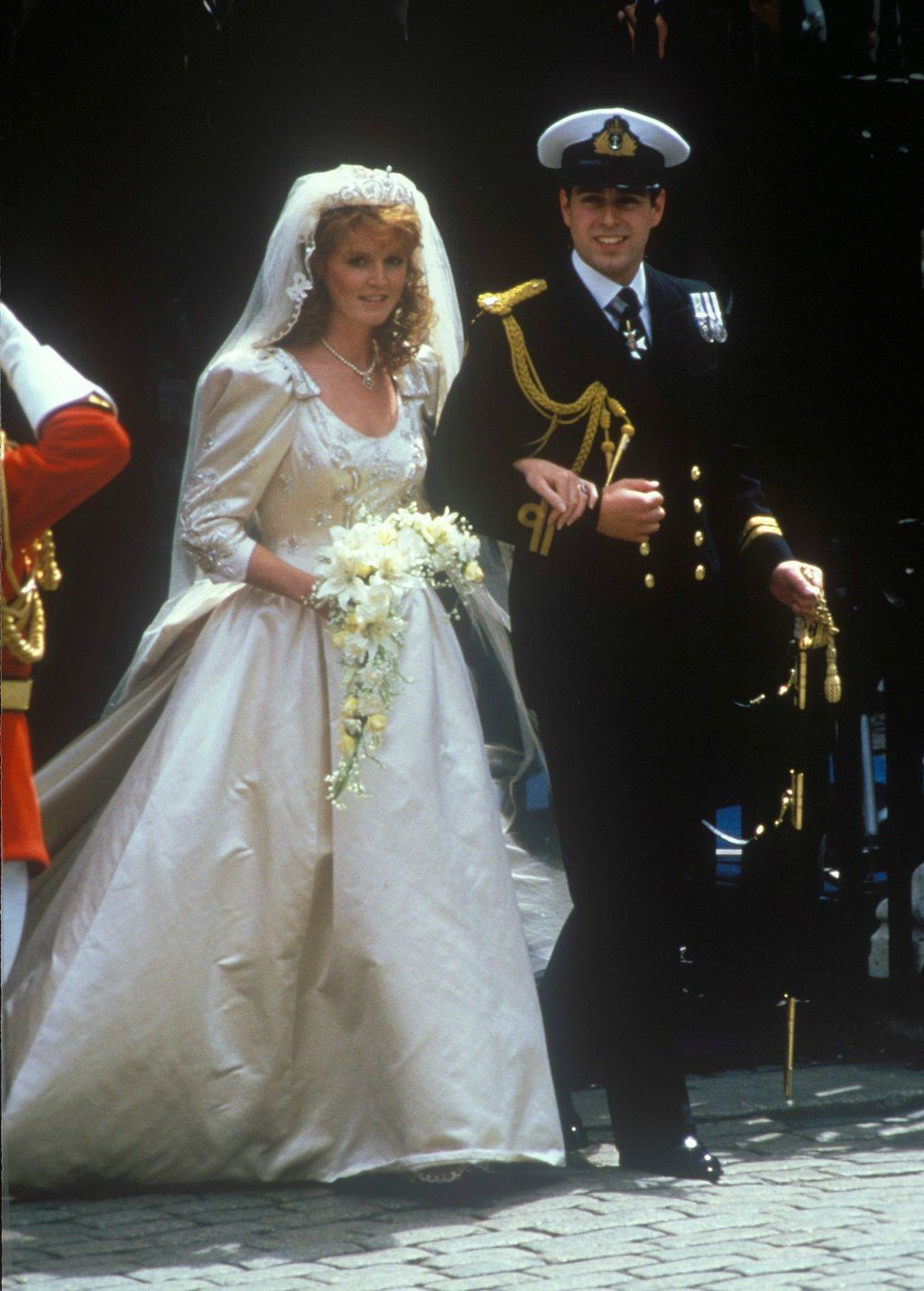 Sarah Ferguson u vjenčanici Lindke Chierach