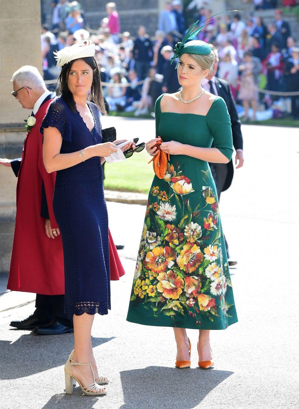 Kitty Spencer na vjenčanju princa Harryja i Meghan Markle - 3