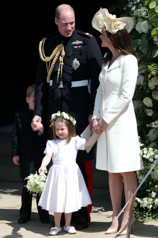 Princeza Charlotte na vjenčanju Meghan Markle i princa Harryja - 3