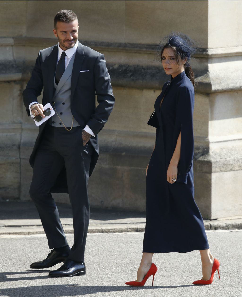David Beckham na vjenčanju Meghan Markle i princa Harryja - 2