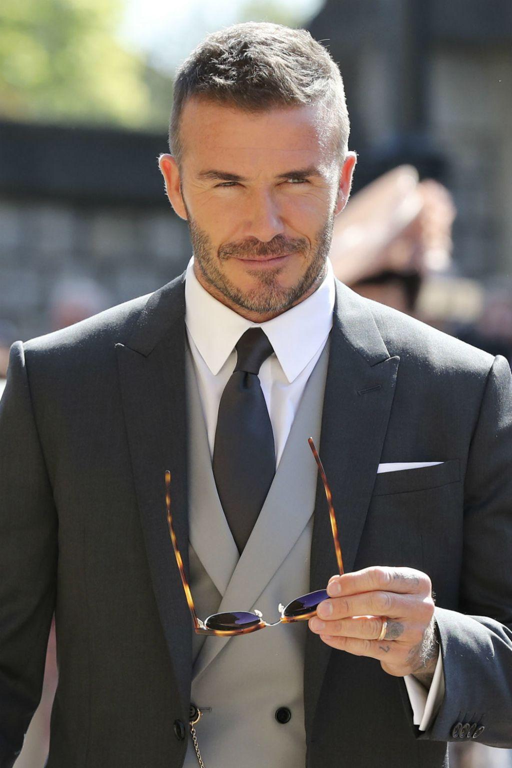 David Beckham na vjenčanju Meghan Markle i princa Harryja - 9