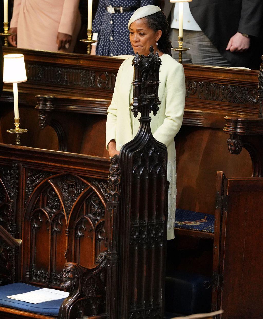 Doria Ragland na vjenčanju kćerke Meghan i princa Harryja - 5