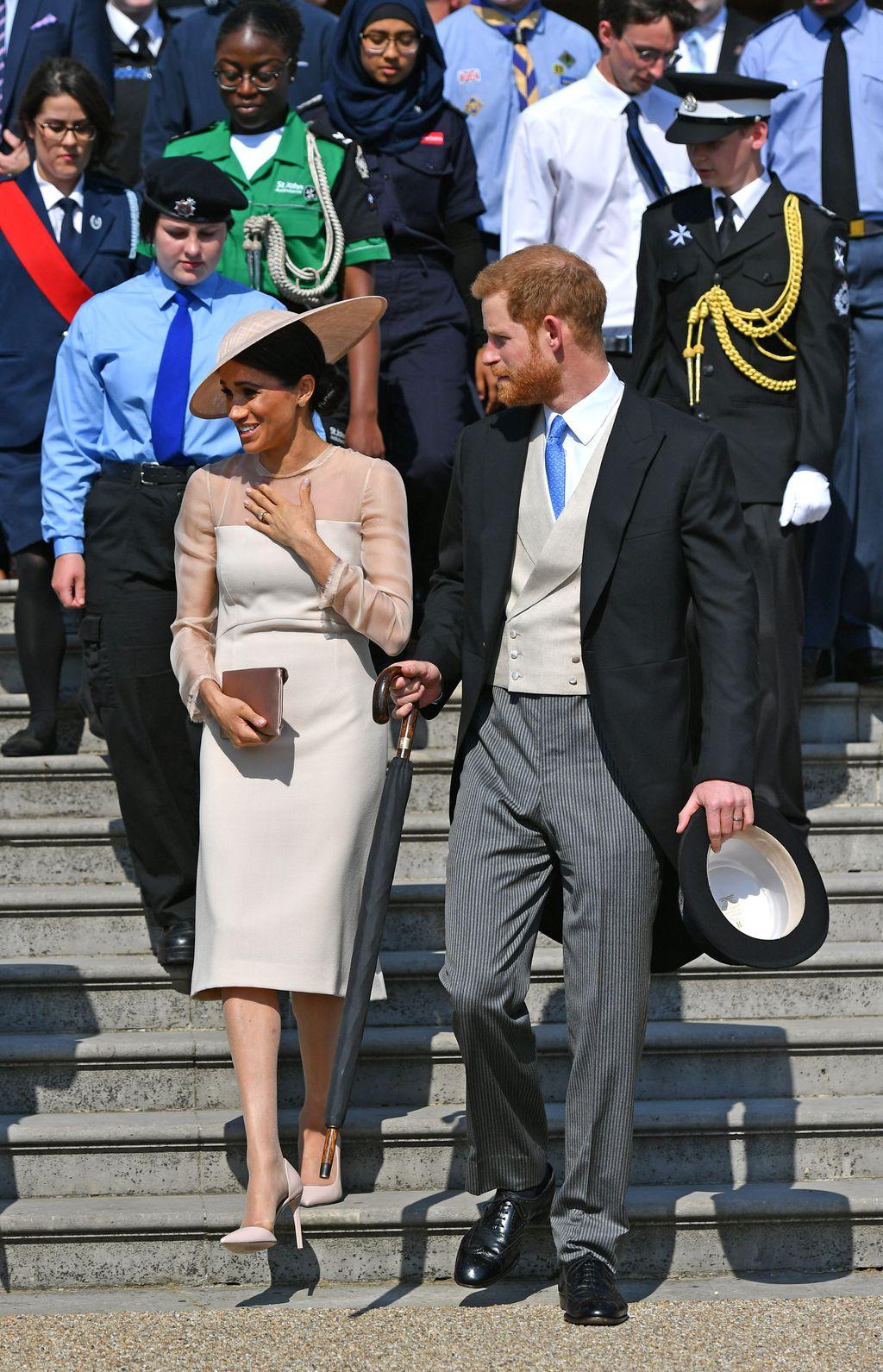 Meghan i Harry na vrtnoj zabavi povodom 70. rođendana princa Charlesa