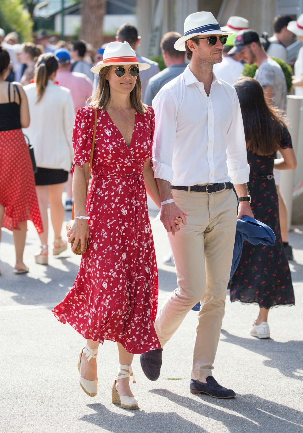 Pippa Middleton i James Matthews na Roland Garrosu