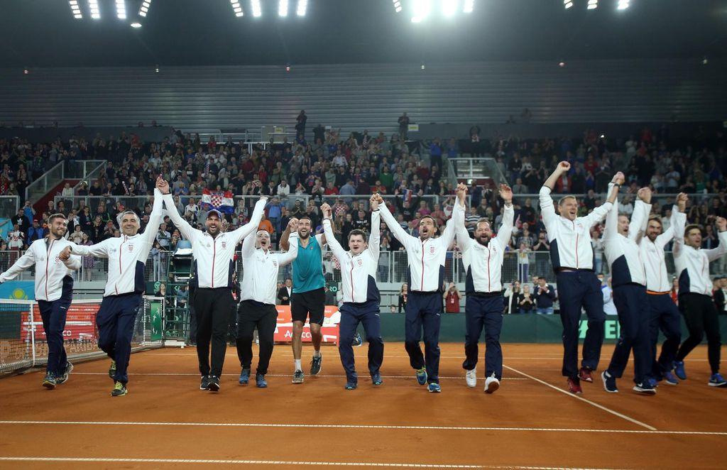 Hrvatska Davis Cup reprezentacija (Foto: Sanjin Strukic/PIXSELL)