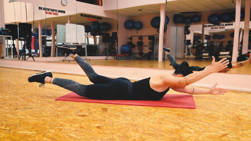 Vježbe za leđa - 3
