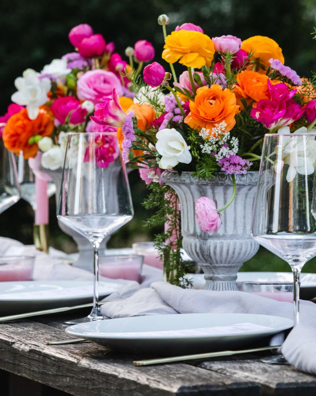 Šarene cvjetne dekoracije