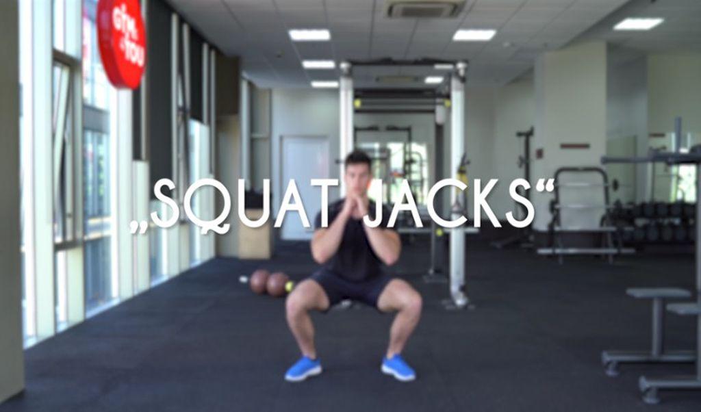 Squat jacks
