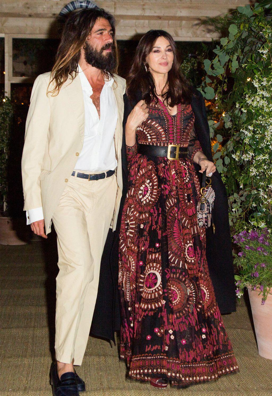 Monica Belluci u pratnji svog dečka Nicolasa