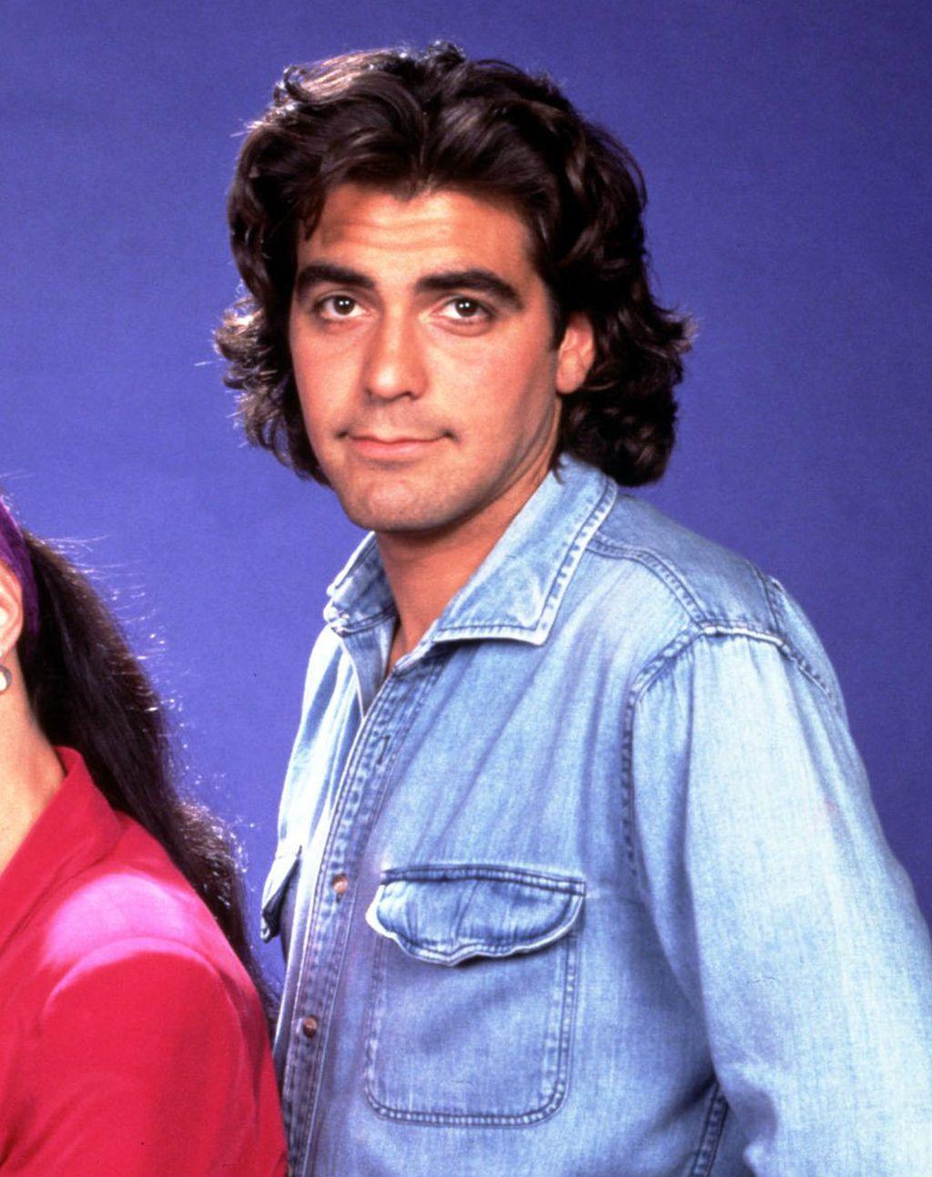 George Clooney na početku karijere