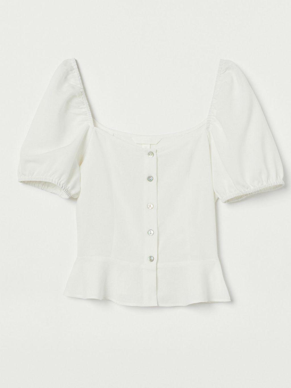 H&M bluza s puf rukavima, 19,99 eura (148, 58 kn)