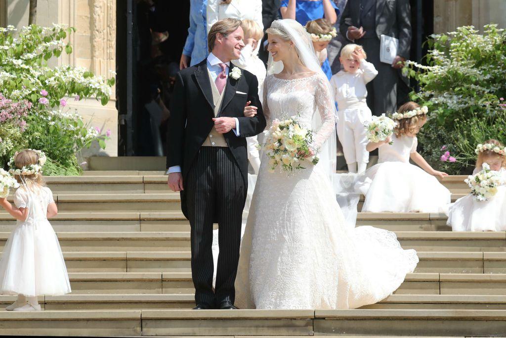 Gabriella Windsor vjenčala se u vjenačnici od čipke