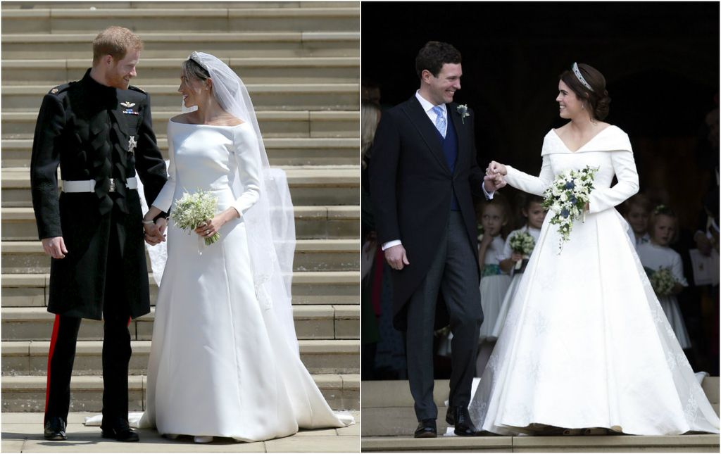 Vojvotkinja od Sussexa i princeza Eugenie u svojim vjenčanicama
