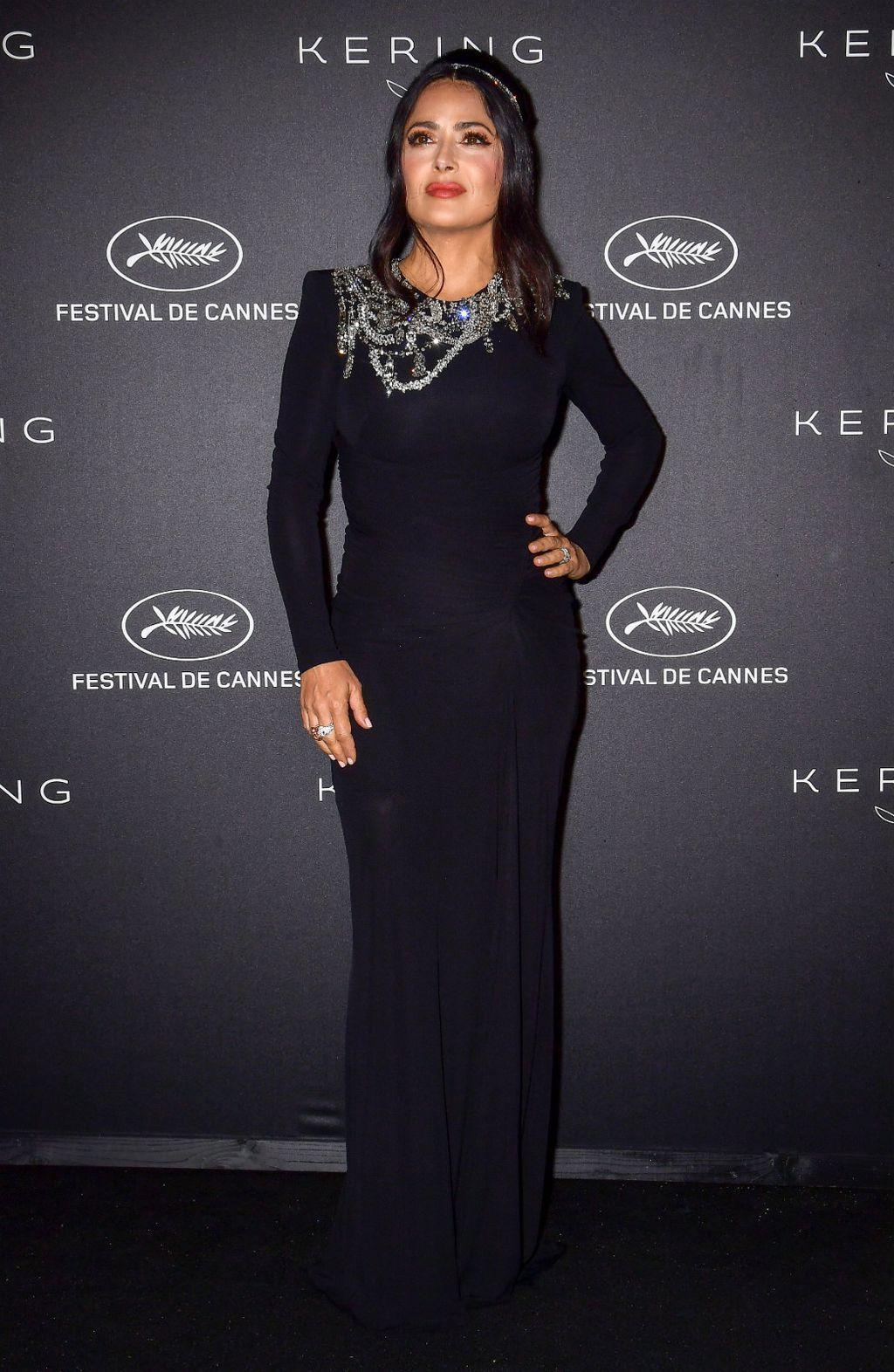 Salma u haljini modne kuće Gucci